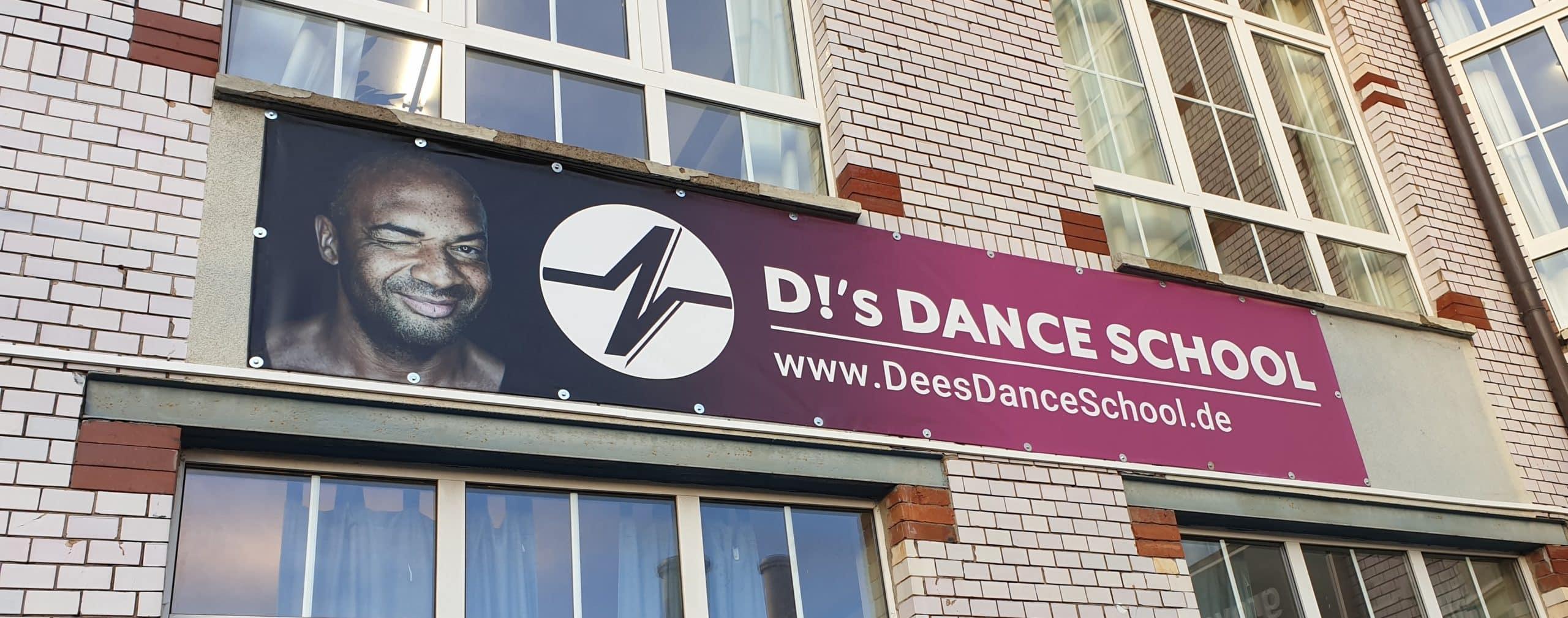 DeesDanceSchool PVC Banner
