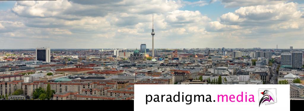 Paradigma.media Werbung Berlin Skyline